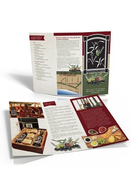 Tri fold brochure printed in Santa Barbara